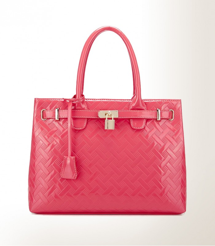 Stylish pink bag
