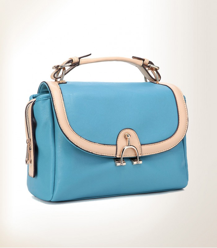 Blue business bag
